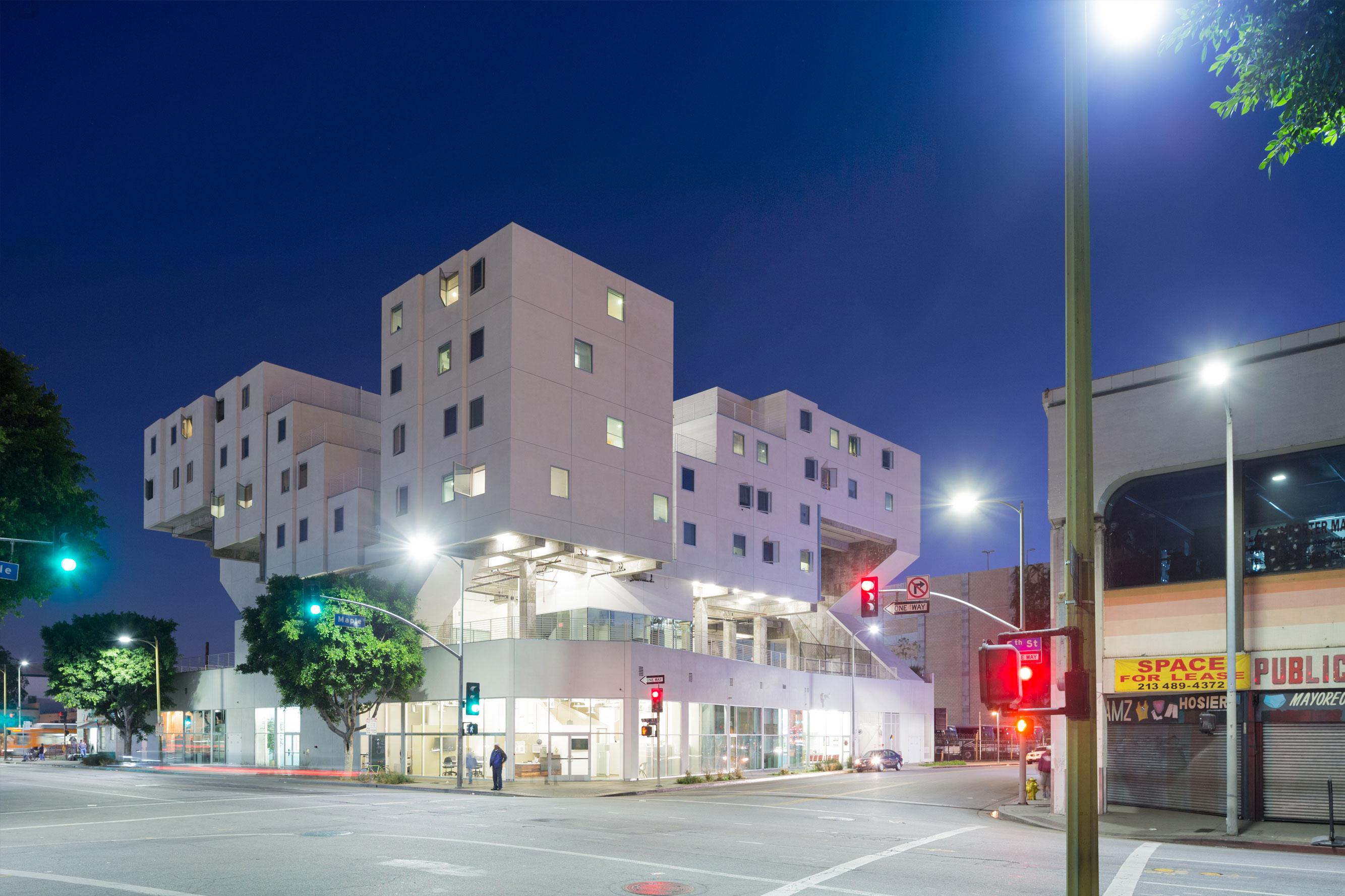 & Star Apartments   Michael Maltzan Architecture azcodes.com